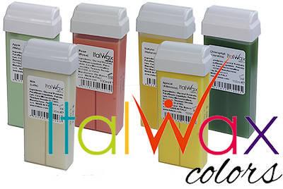 ВОСК   кассетный Italwax Италия ,latte 100 ml, фото 2
