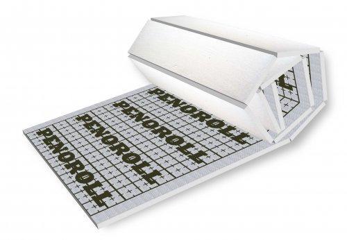 Маты из пенопласта для теплого пола PENOROLL 20 мм (3500 кг/м2)