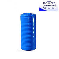 Пластиковая емкость 200 л вертикальная, двухслойная, узкая Euro Plast RVД У 200