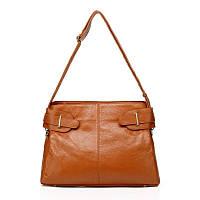 Borsa Tea - Рыжая сумка из мягкой кожи.