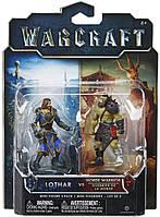Набор фигурок Warcraft Лотар и воин Орды (96252)