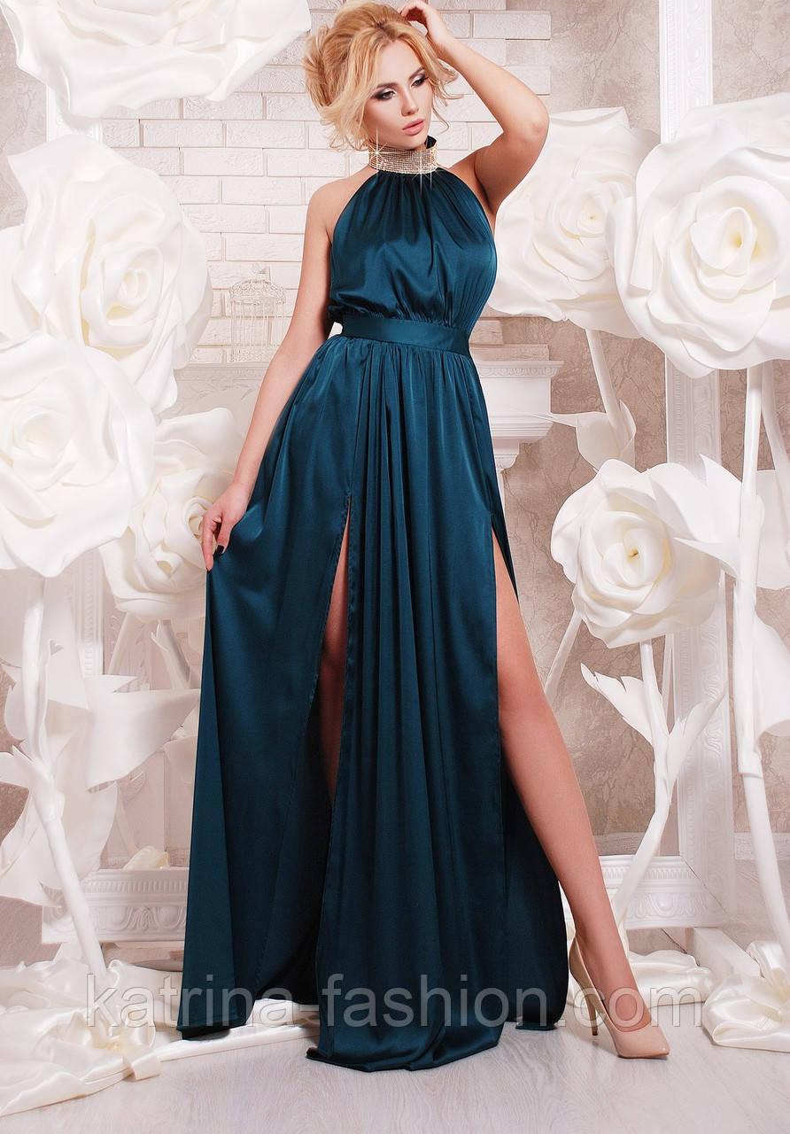 Женское шикарное платье в пол (5 цветов)