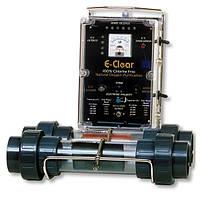 Бесхлорная система дезинфекции воды E-CLEAR MK7/CF1-75 до 75 м³