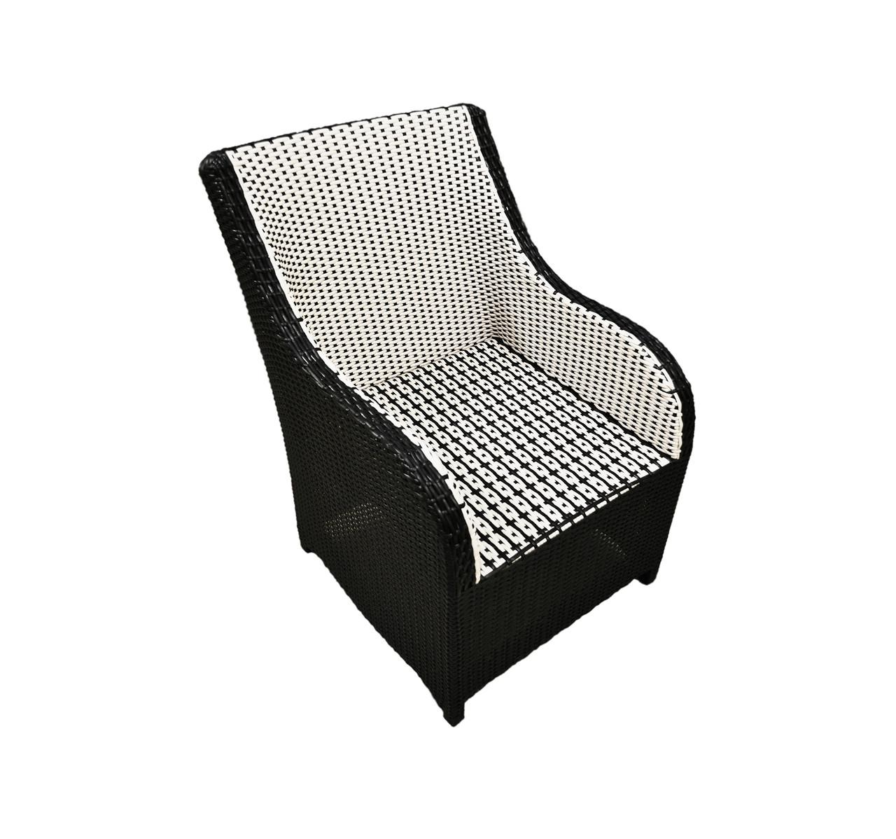 Кресло из ротанга BLACK & WHITE