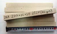 Камень для заточки 200х20х20 белый электрокорунд