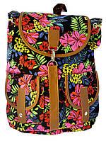 Рюкзак молодежный Jossef Otten Цветочный узор 7590