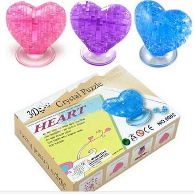 3D пазлы Сердце