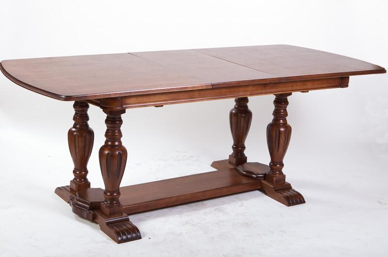 Стол обеденный раскладной Палермо 1600(+400)*900мм (орех)
