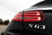 Новая Эмблема Шильдик Mercedes S63 надпись на багажник