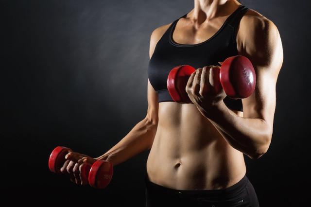 гантели для фитнеса и спорта