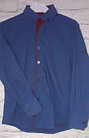 Рубашка детская приталенная 7-15 лет
