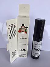 Женский мини парфюм с феромоном DOLCE GABBANA 3 L`IMPERATRICE (Дольче Габбана Императрица) 35 мл