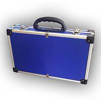 Ящик-кейс для инструментов - алюминиевый (395*240*90 мм)  79K222