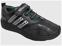 Детские кроссовки чёрные для мальчика VITALIYA, размеры 28-36