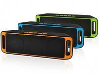 Колонка Bluetooth SC-208B Super Bass. Music Box SC-208 беспроводная Bluetooth Колонка
