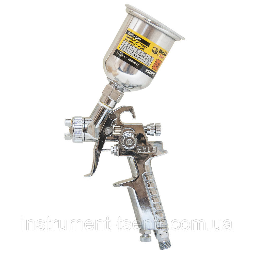 Краскопульт Sigma 6812031 MINI HVLP 0,8 мм