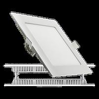 Светодиодный светильник LEDEX квадрат 6Вт  3000К тепло белый матовое стекло напряжение AC100-265В