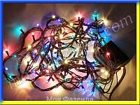 Новогодняя гирлянда 100 лампочек (разные цвета) купить
