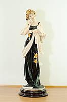 Статуэтка Florence Девушка с голубями Фарфор Италия дизайнер Джузеппе Армани Ручная Работа