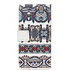 Чехол книжка для Xiaomi Redmi 4A боковой с отсеком для визиток, Классический орнамент, фото 2