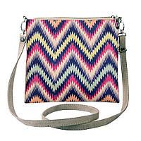 Текстильная сумка через плечо