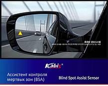 Ассистент контроля мертвых зон (BSA) - Hyundai Santa Fe The Prime / ix45 (KABIS), фото 2