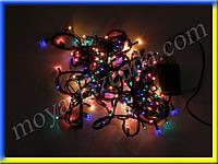 Гирлянда для украшения елки или комнаты (200 лампочек, разноцветная)