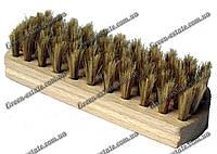 Щетка прямоугольная деревянная из натурального ворса