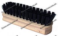 Щетка деревянная прямоугольная длинный ворс