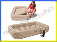 Кровать надувная односпальная (в комплектации с насосом и сумкой)