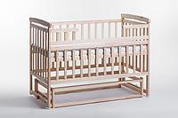 Кроватка трансформер в детскую комнату из натурального дерева ТМ Дитячий сон, цвет - ваниль