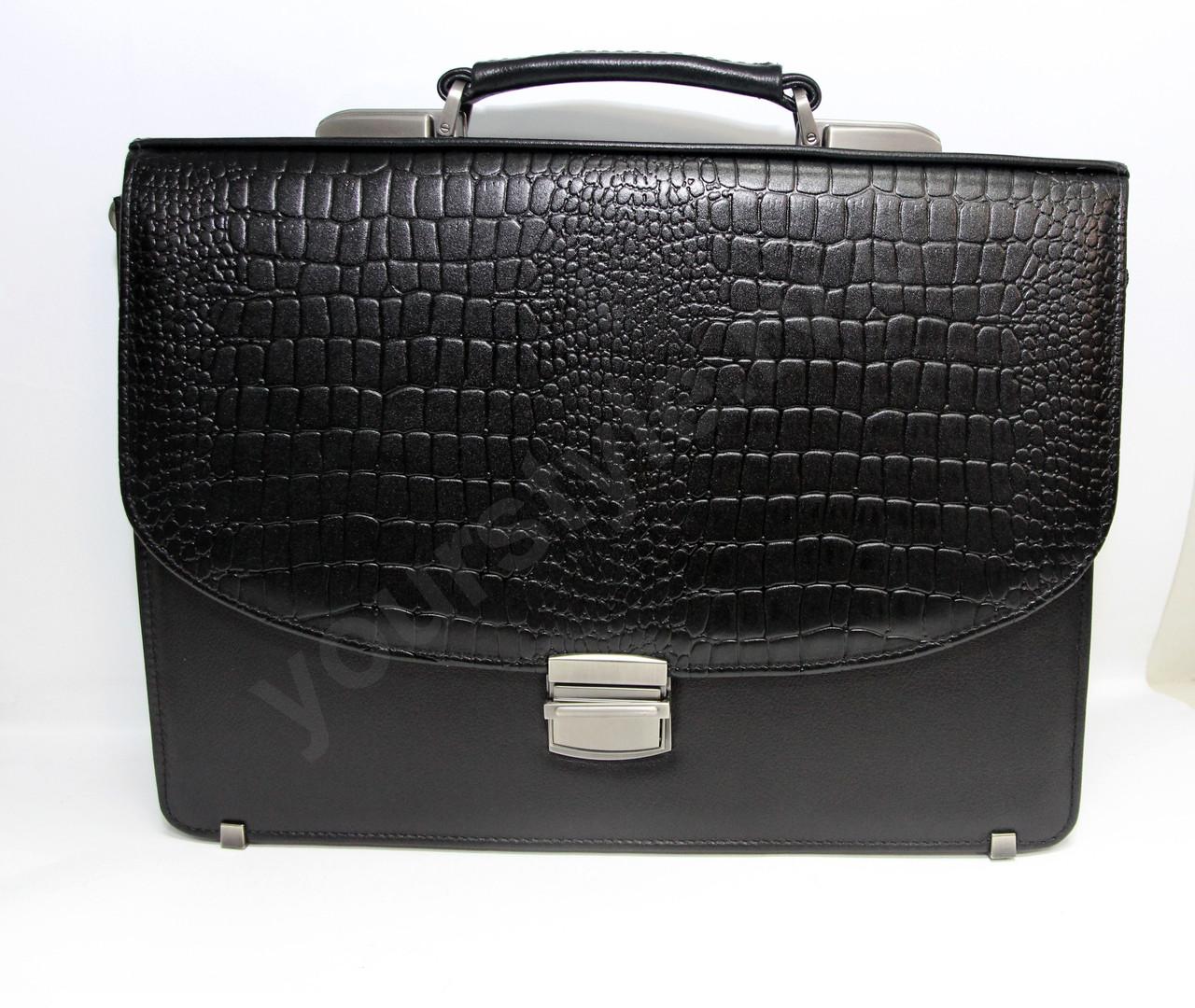 Портфель мужской кожаный 472-102