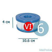 Сменный картридж для фильтр насоса Bestway 58239 тип «VI» 6 шт