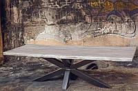 Стол из натурального дуба Hamburg-ХХ, мебель для кухни из массива дерева