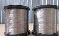 Проволока нержавеющая ф 1.0 мм AISI 308L сварочная пищевая, катушки по 5 кг.