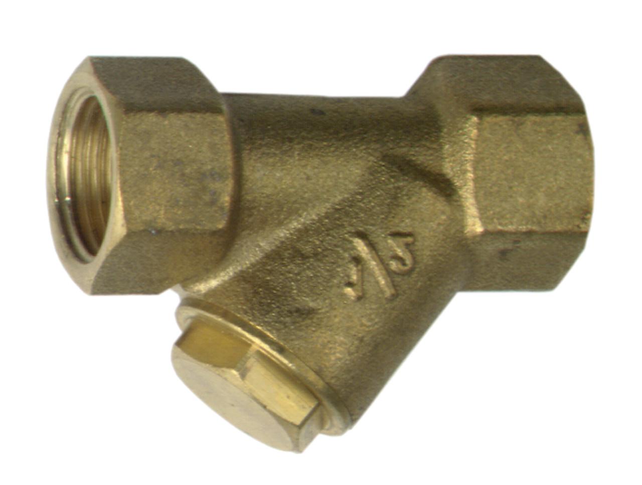 Фильтр сетчатый Afriso латунный с сеткой из нержавеющей стали 0,6мм, 110 ºС