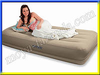 Односпальный надувной с электрическим насосом