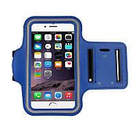 Чехол Sport iPhone 6 синий на руку в упаковке, фото 2