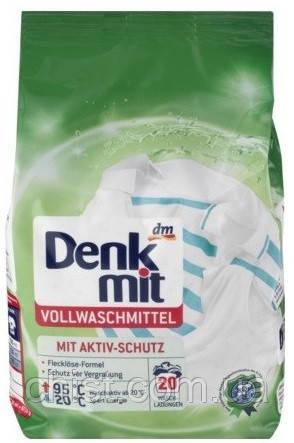 Denkmit стиральный порошок для белого белья Vollwaschmittel (1.35 кг.-20 стирок) Германия