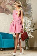 Летнее женское платье в полоску 2178 Seventeen 42-48 размеры