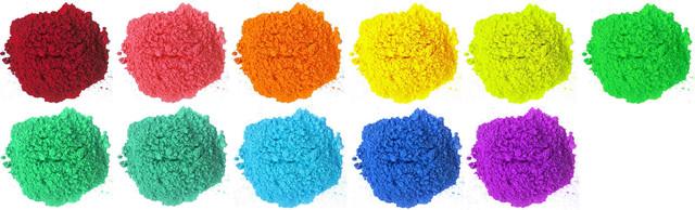 Натуральні нешкідливі порошкові фарби Гулал (Холі)
