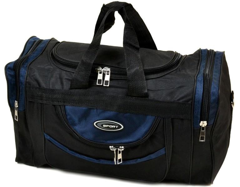 Дорожная сумка малая 0270-50 dark-blue, 20 л, черно-синий