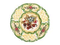 Декоративная тарелка Малина 25 см 59-550