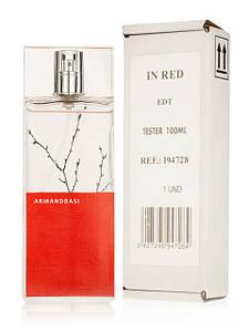 Armand Basi In Red (Арманд Баси Ин Ред),женский  тестер без крышки