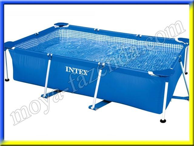 Прямоугольный каркасный бассейн на 1662 литра