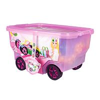 Конструктор с блестками 400 деталей RollerBox Glitter Clics CB415, фото 1