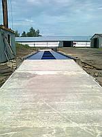 Весы автомобильные колейного типа, 20 метров, 80 тон грузоподъемность
