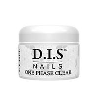 Гель моделирующий D.I.S Nails ONE PHASE CLEAR 30 гр