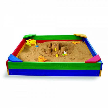 """Детская деревянная песочница """"Песочница-1"""", фото 2"""