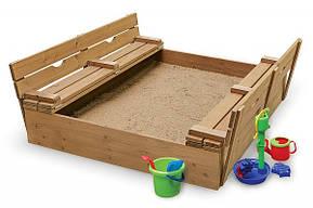 """Детская деревянная песочница """"Песочница-3"""", фото 2"""